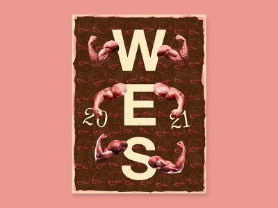 Wes illustration poster type graphic typography design