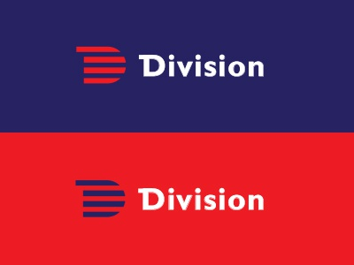 Division Freight typography logo freight division gill sans