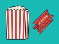 Popcorn & Tickets!