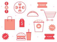Food Shopping & Film