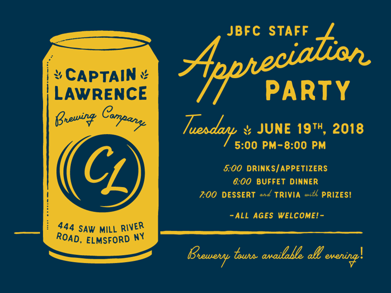 Staff Party type typography navy illustrator invitation party illustration beer design