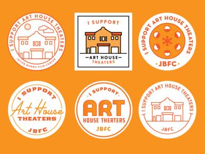 Art House Theater Button