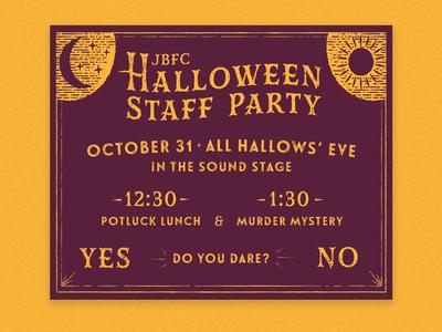 Halloween Staff Party