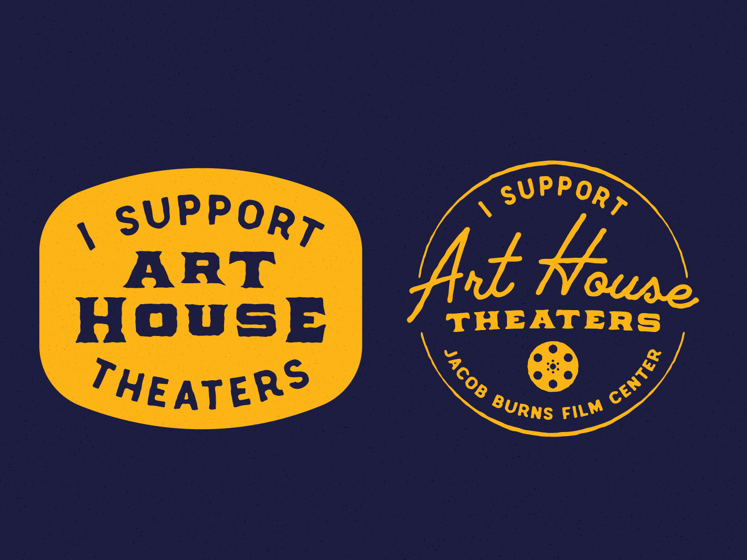 Art House Theaters Tote Concepts ny newyork pleasantville westchester film reel movie tote bag cinema art house theater logo illustration typography film design theater