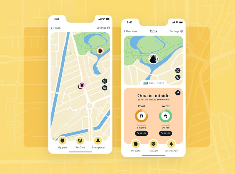 Pet Finder app app design app branding ui design uxui ux design ux