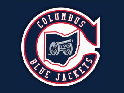 Columbus Blue Jackets Heritage Logo