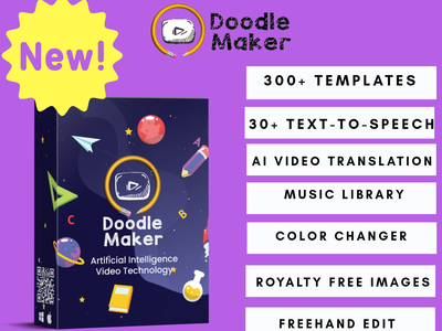 Doodle Maker sales video sales video marketing video maker video artificial intelligence artificial doodles doodle