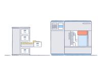 Legacy File System Illustrations