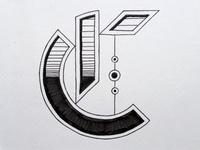 Geometric Gothic Type