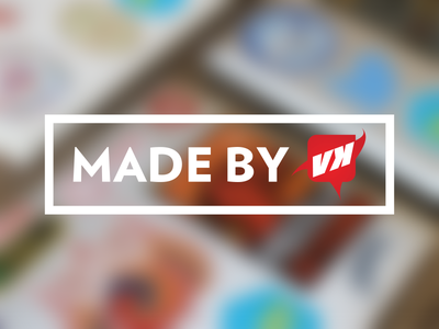 madebyvk.com logo identity 1st rebranding