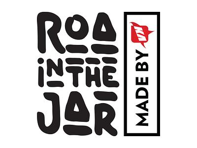 #ROAintheJar logo identity homemade chilli manadonese roa sambal roa