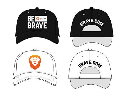 #BeBrave Baseball Cap indobrave bebrave baseball cap brave brave browser