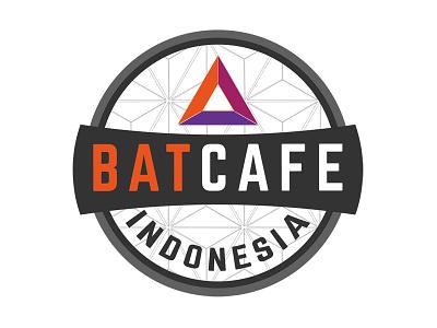 #BATcafe Logo indobat meetup basic attention token community bat