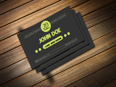 Freebie Retro Business Card PSD Template freebie freebies psd business card