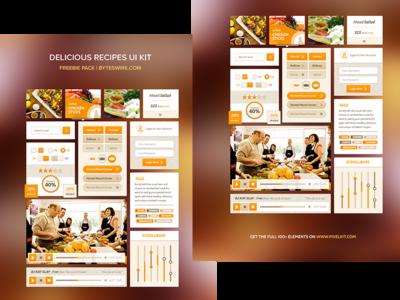 Recipe UI Kit