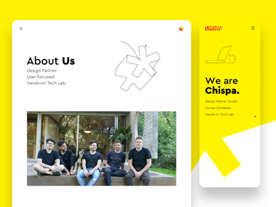 Our Website 🚀 - Chispa design thinking website design responsive design design website web ux ui graphic design branding