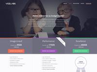 Voz Labs website redesign