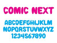 Comic Next Font typeface design typography typeface type design font design type comic typeface comic font