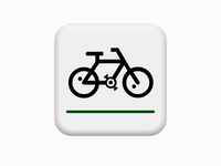 Bike Routes - Android App Icon