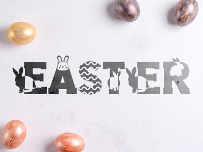 Easter Font easter font eastern typeface typography font design font