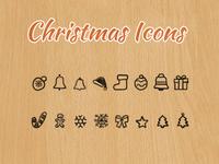 Free Christmas Icons - Hand Drawn