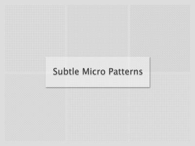 Subtle Micro Patterns creativemarket micro patterns subtle patterns patterns pattern
