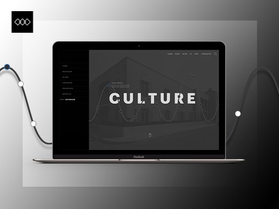 Media - web design inspiration mockup ui design ux design black and white white black ui ux website culture media web design