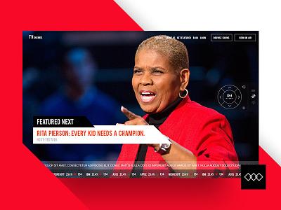 Digital TV - web inspiration website ui ux ui design ux design web design ted talk tv channel channel digital tv digital tv