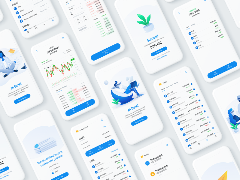 Digital currency exchange platform uxuidesign uxui design ux  ui uxui uxdesign user experience react design white clean flat design mobile app design web design development ux exchange currency crypto ux design