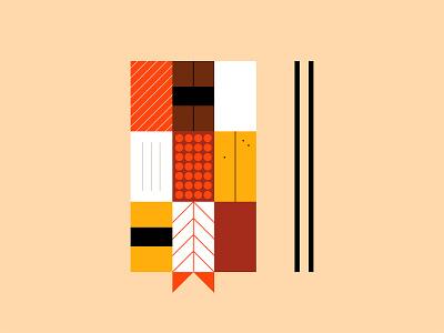 30 day challenge: Sushi geometric art simple illustration nigiri food japanese sushi illustrator illustration graphicart graphic design art 30daychallenge