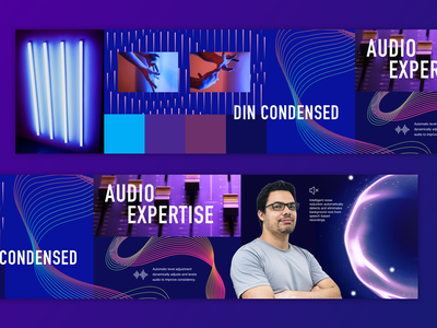 Dolby Labs Stylescapes ux ui dolby concept aesthetics ui research visual research moodboards style scapes stylescapes