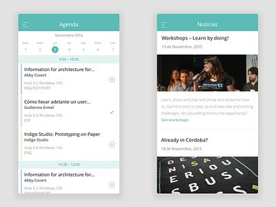 Interaction South America 2016 – Schedule, Agenda interaction south america 2016 isa ios event app wip