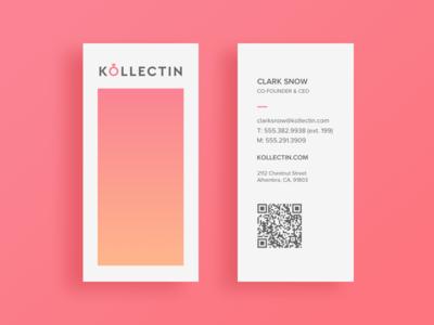 Kollectin Business Cards