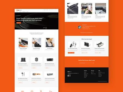 DAK - eCommerce Website ui design ux design web design ecommerce