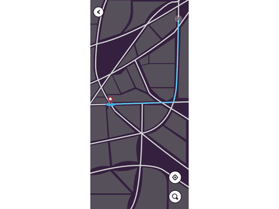 Map - Daily UI 029 day 029 position maps map design daily 100 challenge dailyui adobe xd