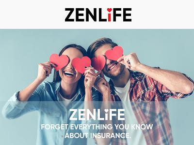 ZenLife Brand life insurance logo brand