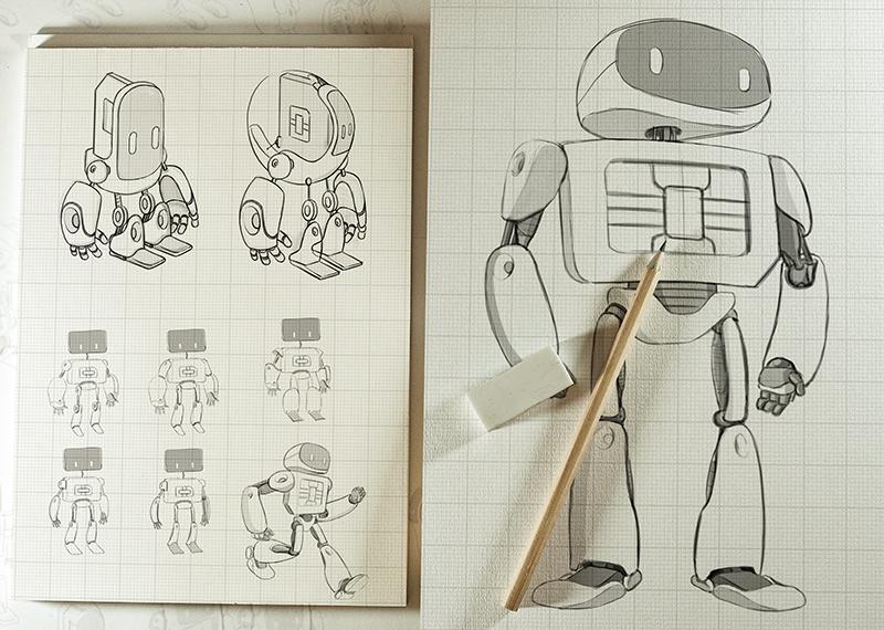Mockup sketch