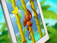 Tree Hopper iOS game art