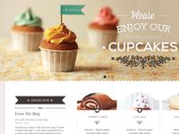 WIP Cakeshop Website