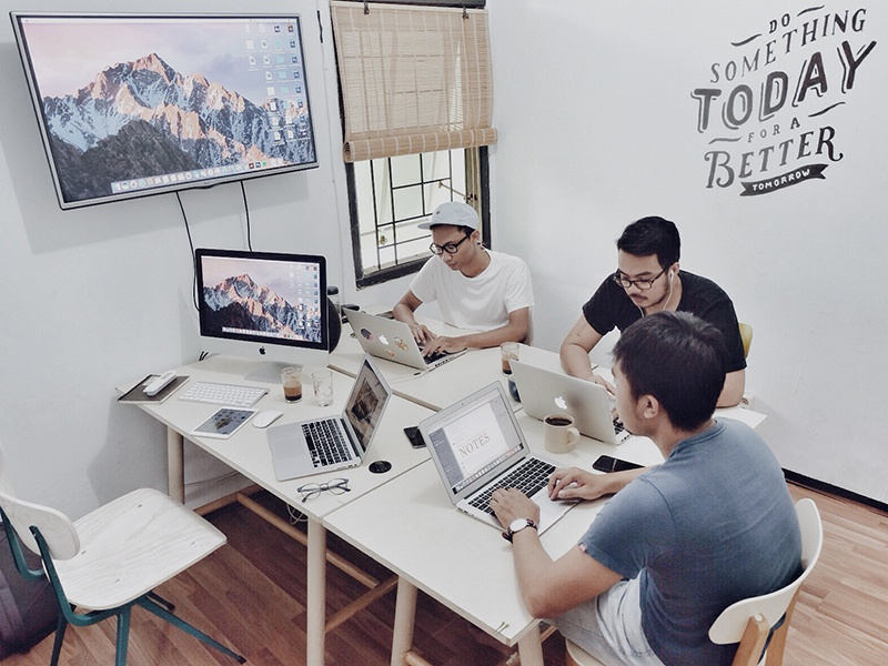 Hellonemo Workspace indonesia malang workspace design digital hellonemo studio