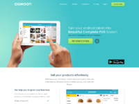 Homepage marketing pos app hellonemo
