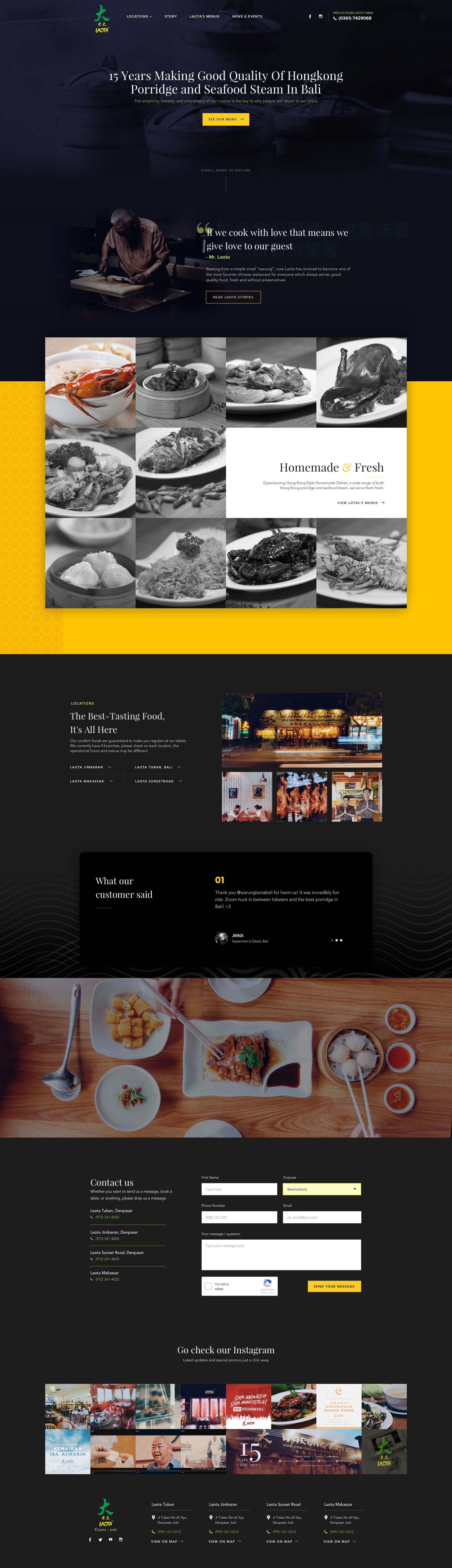 Warung laota homepage caldhela