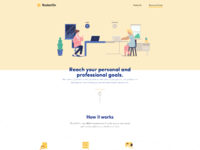 Rocketon landing page customer by caldhela