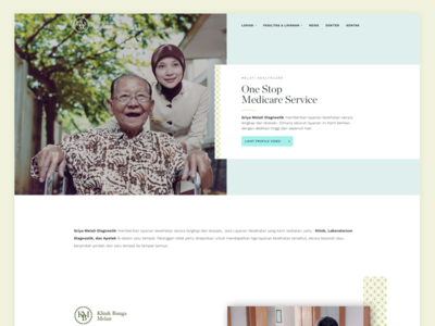 Medical Clinic Website - WIP white landingpage hospital clean ux ui website clinic medical