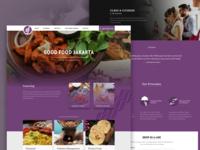 GoodFoodJakarta Homepage