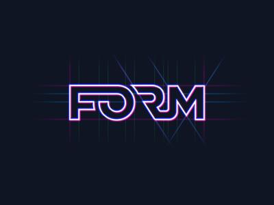 Form Logo Exploration WIP