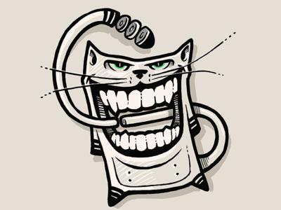 Kitty - iPad Doodle