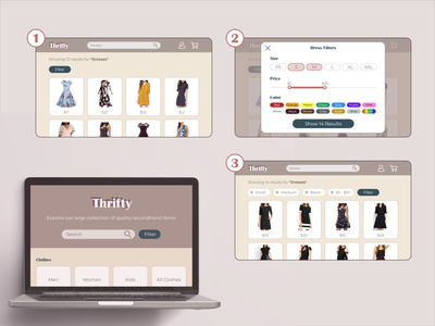 Search and Filter shopping ux design ui filters search results filter search