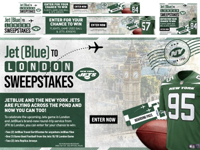 Jets in London typography graphic design creative jetblue football nfl new york city new york jets jets london