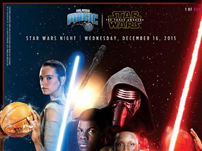 Star Wars Night Photo